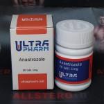 Ultra Anastrazole 1mg/tab - цена за 20 таблеток