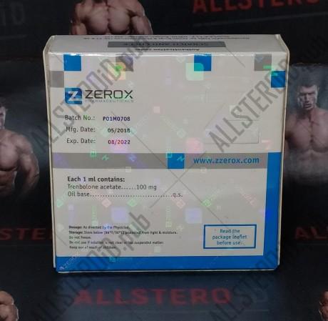 ZZEROX TRENOROX A 100MG/ML - ЦЕНА ЗА 1 АМПУЛУ
