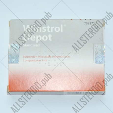 Winstrol Depot 50 mg (Desma laboratorio)